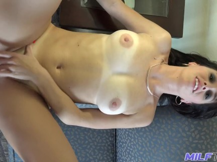 MILF Trip – MILF hottie Alana Cruise takes big load to the face – Part 1